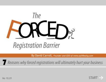 The Forced Registration Barrier
