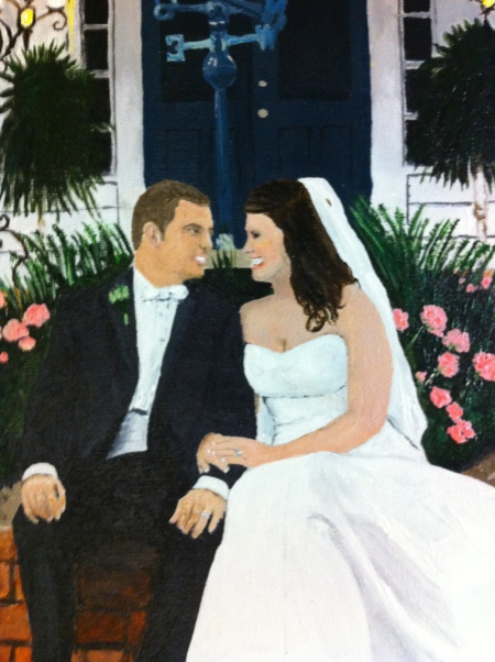Final Wedding Painting